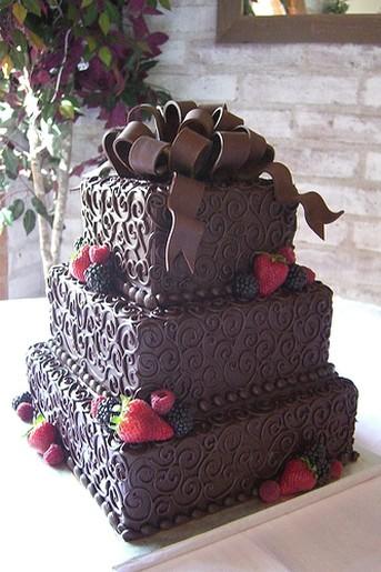 Buy Three Tier Chocolate Cake