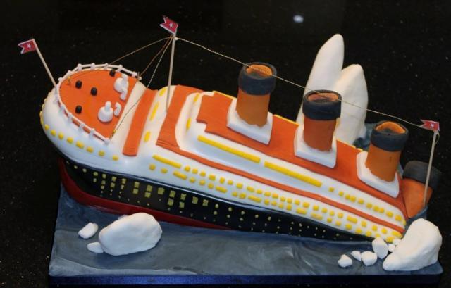 Titanic Ship CakeJPG Hi Res 720p HD