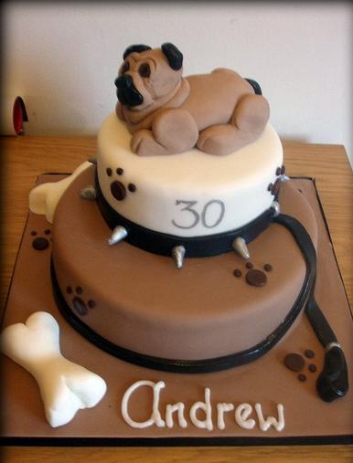 Make D Dog Cake
