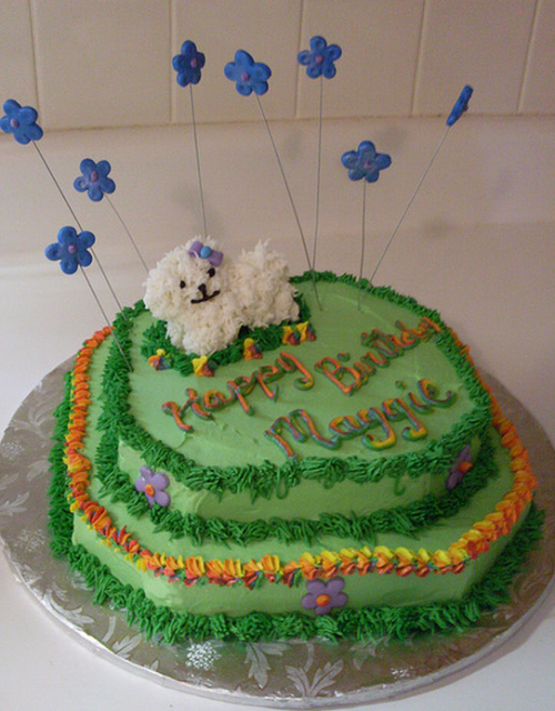 Puppy birthday cake picture_Webkinz dog cake.PNG