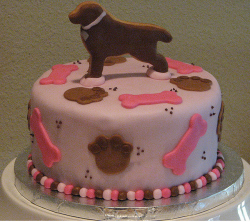 Stylish dog birthday cake pictures.PNG