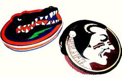 Gator vs. Seminole cake