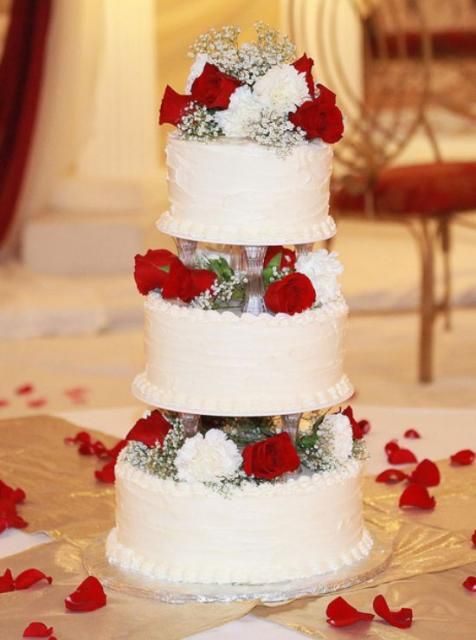Cost Of  Tier Wedding Cake