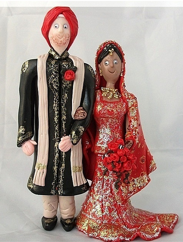 Picture Of Indian Wedding Cake Toppers Ethnic Wedding Cake Toppers