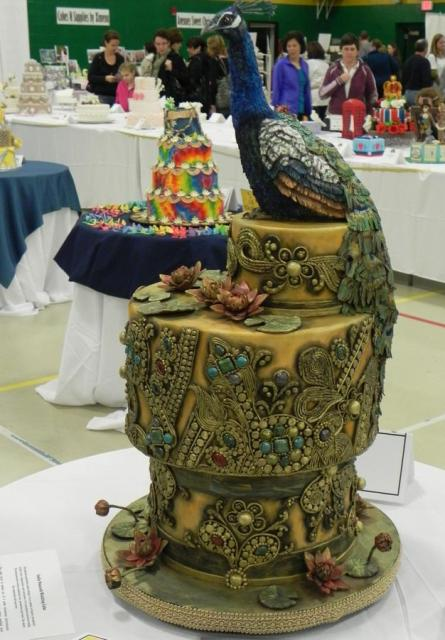 Detailed And Fancy Peakcock Cake Jpg 1 Comment Hi Res
