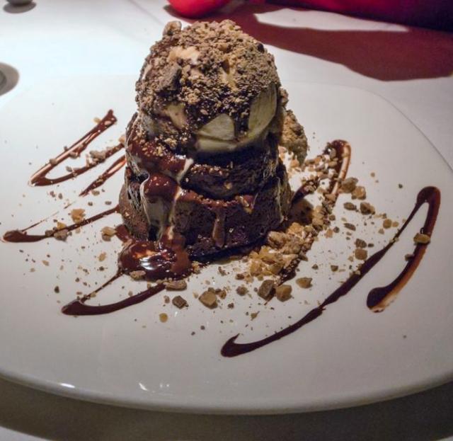 Chocolate Cake Images Dessert : Melting Chocolate Ice Cream cake dessert.JPG