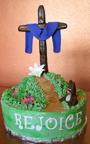 Easter Cross Cake Ideas 56190  Religious Easter Cakes With