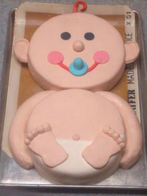 Cute Baby Cake Images : cute baby shower cakes 7