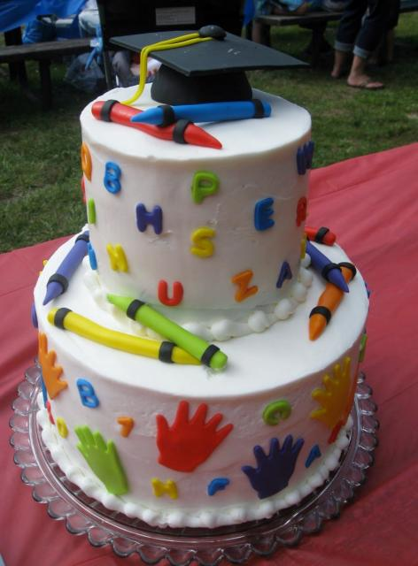 Kindergarten Graduation Themes Cake Ideas And Designs