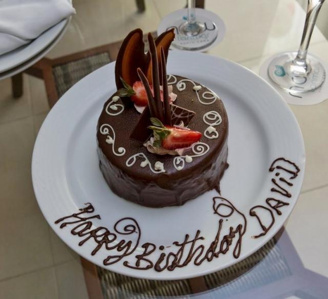 Birthday Cake Images Small : Mini Round Chocolate Birthday Cake Dessert.JPG Hi-Res 720p HD