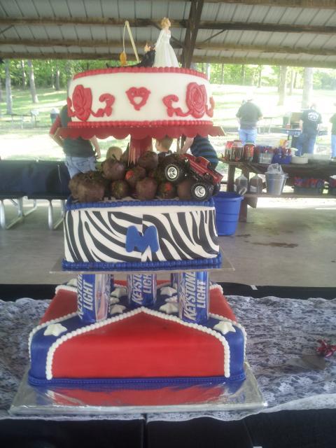 redneck wedding cake Hi Res 1440P QHD