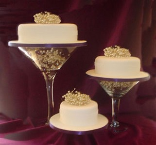 wedding cakes with style