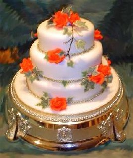 Sugar Paste Yellow Roses Ideas For Cakes
