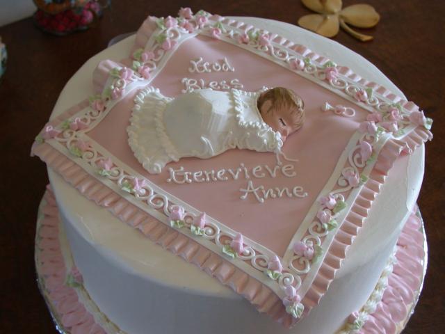 Christening+baby+shower+cake