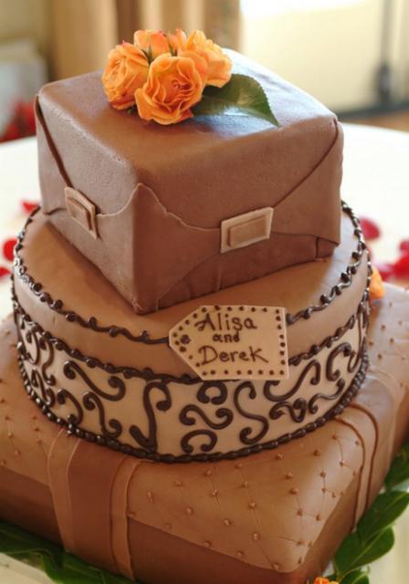 Unique Chocolate Cake Images : unique wedding cakes with chocolate