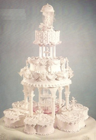 Traditional White Wedding Cake Frosting