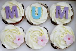 Mother's Day Cupcakes with White Frosting.JPG