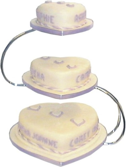 Tiered Cake Stands For Wedding Cakes