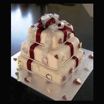 gift boxes wedding cake picture