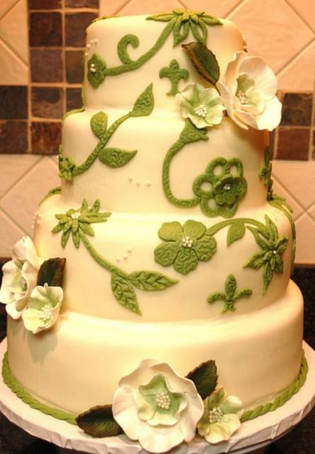 Cake Decorating Vines : Pin Flowers Vines 40th Birthday Cake Decorating Community ...