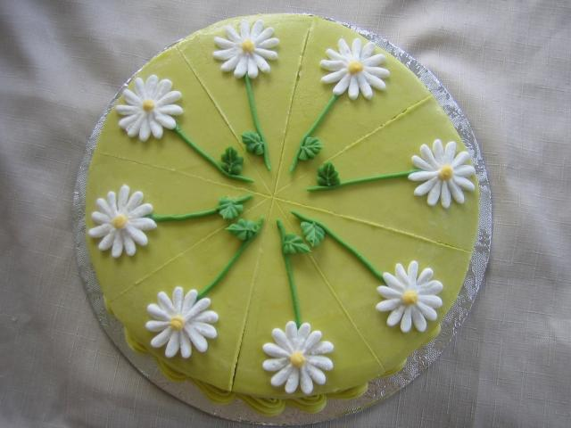 Daisy Birthday Cake Gallery