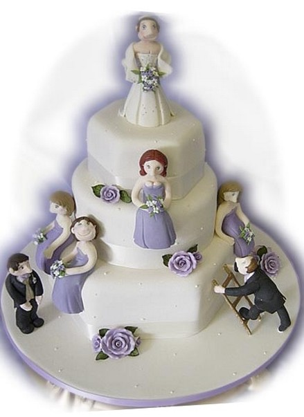 Funny Wedding Cake Picture