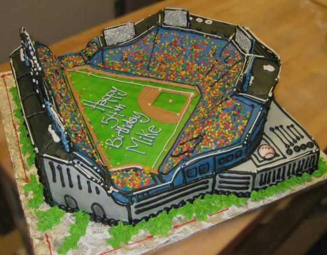 Baseball field birthday cake.jpg