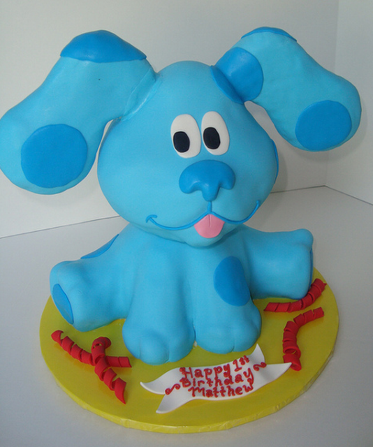 Big Blues Clues Cake Ideas And Designs