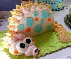 Pink dragon monster cake.JPG