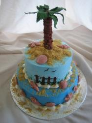 Palm Tree Beach Bridal Shower Cake photos.jpg