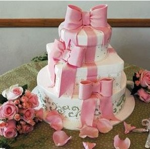 pink and big bridal shower cake photos.jpg