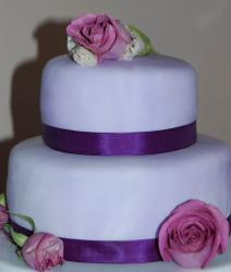 Purple Bridal Shower cake with roses photo.jpg