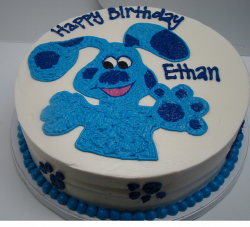 Round Blues Clues birthday cakes for kids.PNG