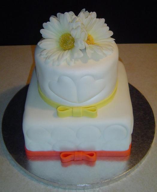 Spring Bridal Shower Cake Photo Jpg