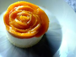 mango cheesecake in rose shape.jpg