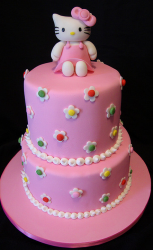 Two tier hello kitty in pink with hello kitty cake topper.PNG