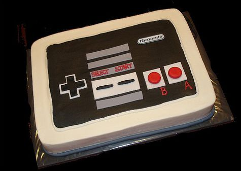 Old-school Nintendo groom's cake.JPG