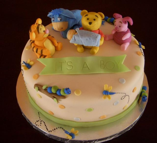 winnie the pooh baby shower cake for boy jpg 3 comments hi res 720p