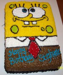 Spongebob Squarepants birthday cake.JPG