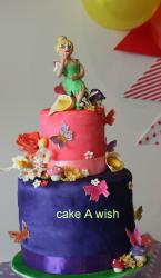 tinkerbell cake or girls