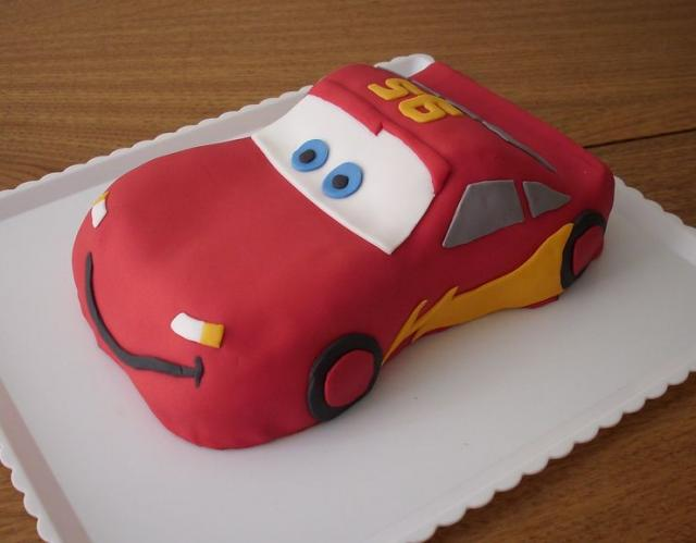 Images Of Cake Of Car : Car Shaped Birthday Cakes Cars Mcqueen Birthday Cake.jpg