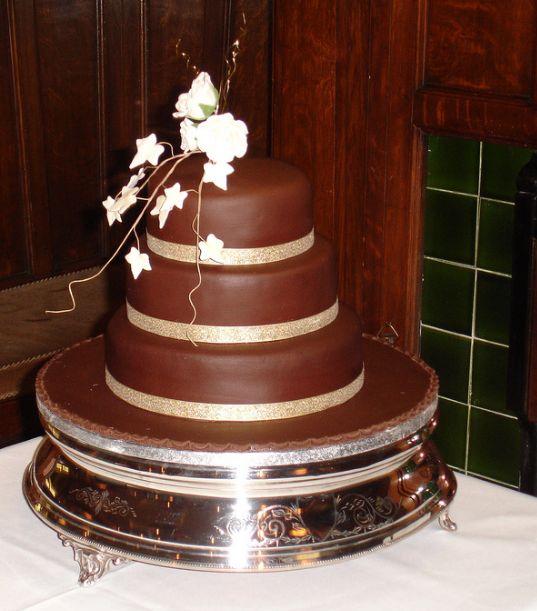 The Best 50 Years: Chocolate on Chocolate DIY Wedding Cake