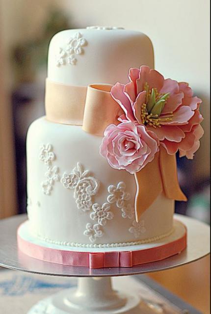 Small 2 Tier Wedding Cake Idea 62796 Image Of Two Tier Sma