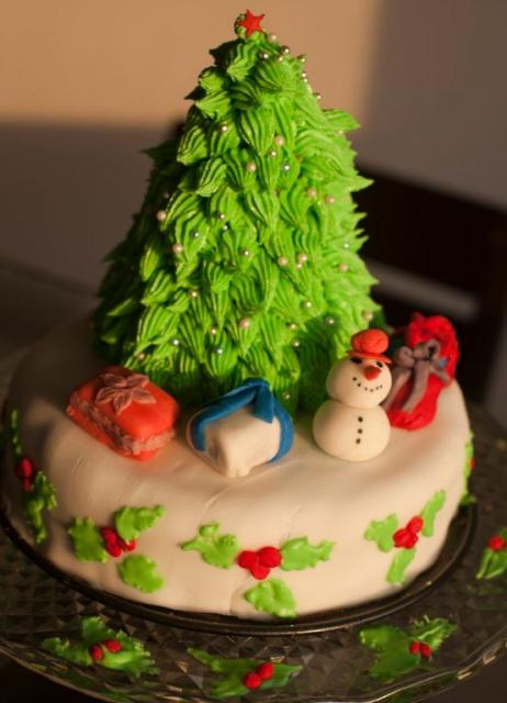 Small Christmas Cakes To Buy