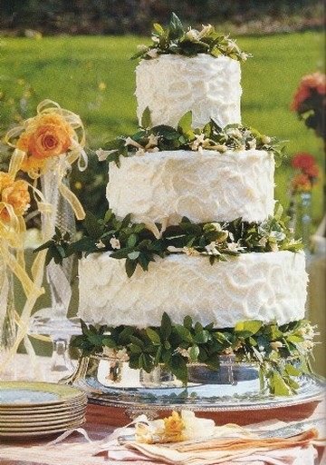 Three tier wedding