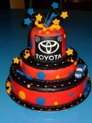 Colorful Toyota Retirement Cake.jpg