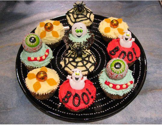 Halloween Cupcakes Decorating Ideas Jpg
