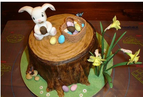Cake Decorating Ideas Easter : easter cake decorations.JPG