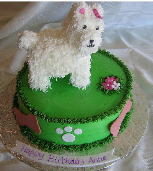 Dog Birthday Cake Decorations Picture Png