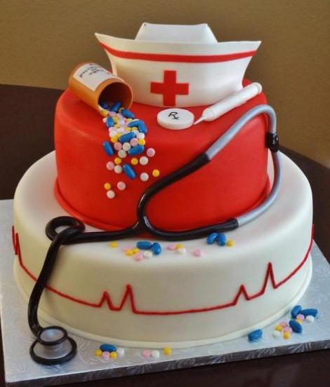 Best Cake Images Download : Best nursing graduation cakes photos.PNG